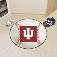 Indiana Hoosiers Baseball Rug