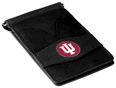 Indiana Hoosiers Black Player's Wallet