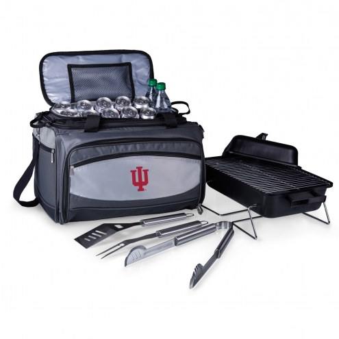 Indiana Hoosiers Buccaneer Grill, Cooler and BBQ Set