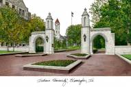 Indiana Hoosiers Campus Images Lithograph