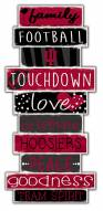 Indiana Hoosiers Celebrations Stack Sign