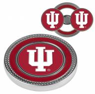 Indiana Hoosiers Challenge Coin with 2 Ball Markers