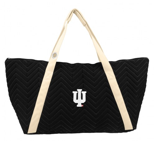 Indiana Hoosiers Chevron Stitch Weekender Bag