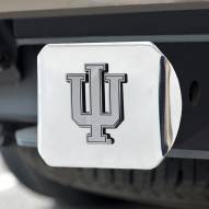 Indiana Hoosiers Chrome Metal Hitch Cover
