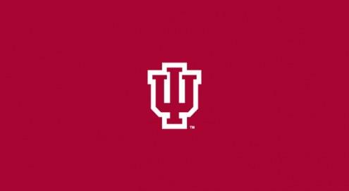 Indiana Hoosiers College Team Logo Billiard Cloth