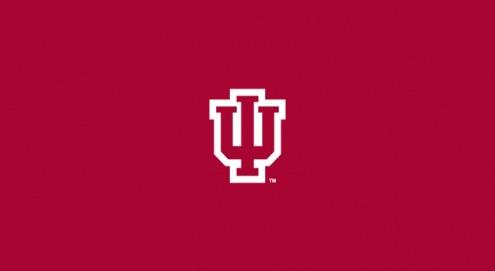 Indiana Hoosiers College Team Logo Billiard Cloth