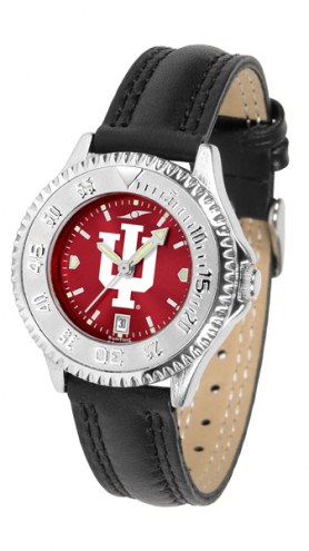 Indiana Hoosiers Competitor AnoChrome Women's Watch