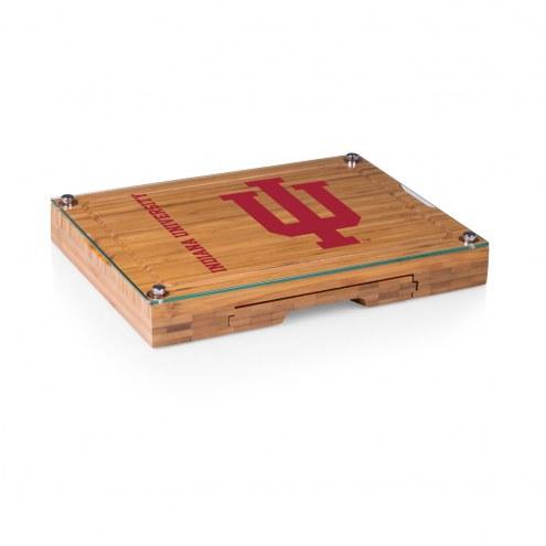 Indiana Hoosiers Concerto Bamboo Cutting Board