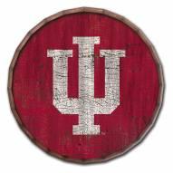 """Indiana Hoosiers Cracked Color 16"""" Barrel Top"""