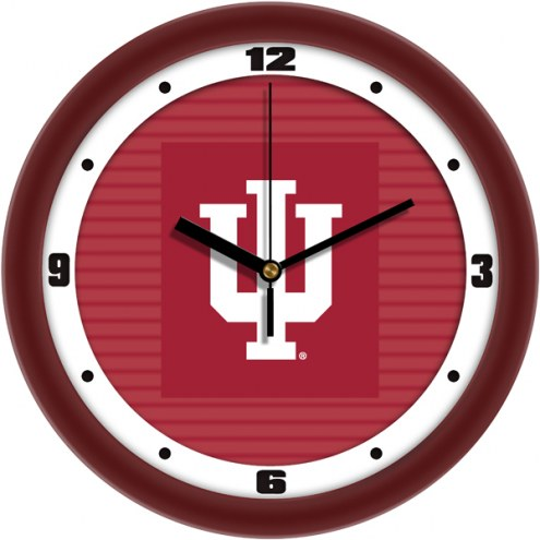 Indiana Hoosiers Dimension Wall Clock