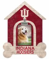 Indiana Hoosiers Dog Bone House Clip Frame