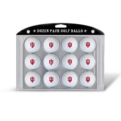 Indiana Hoosiers Dozen Golf Balls