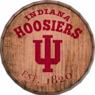 """Indiana Hoosiers Established Date 24"""" Barrel Top"""