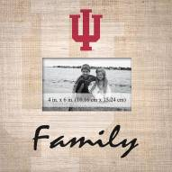 Indiana Hoosiers Family Picture Frame