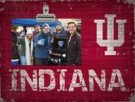 Indiana Hoosiers Wood Clip Frame