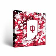 Indiana Hoosiers Fight Song Canvas Wall Art