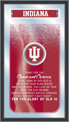 Indiana Hoosiers Fight Song Mirror