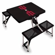 Indiana Hoosiers Folding Picnic Table