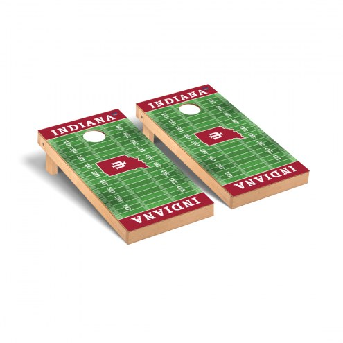 Indiana Hoosiers Football Field Cornhole Game Set