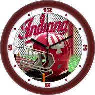 Indiana Hoosiers Football Helmet Wall Clock