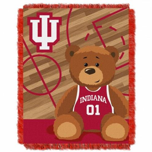 Indiana Hoosiers Fullback Baby Blanket