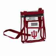 Indiana Hoosiers Gameday Clear Crossbody Tote