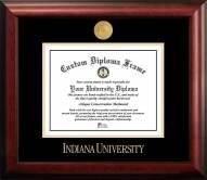 Indiana Hoosiers Gold Embossed Diploma Frame