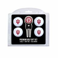 Indiana Hoosiers Golf Ball Gift Set
