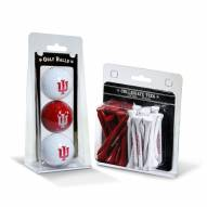 Indiana Hoosiers Golf Ball & Tee Pack