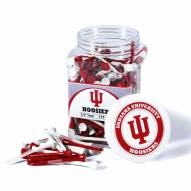 Indiana Hoosiers 175 Golf Tee Jar