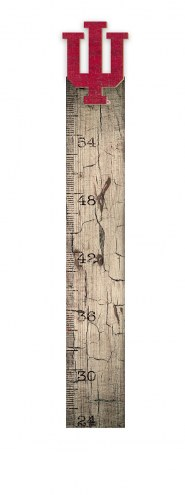 Indiana Hoosiers Growth Chart Sign