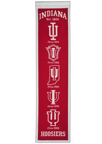 Indiana Hoosiers Heritage Banner