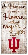 Indiana Hoosiers House is Not a Home Sign