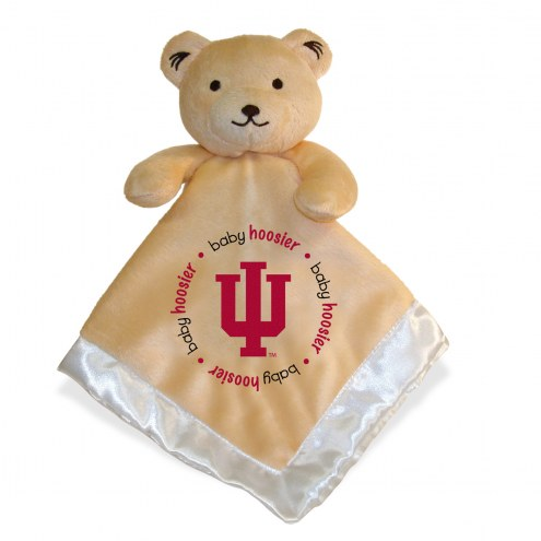Indiana Hoosiers Infant Bear Security Blanket