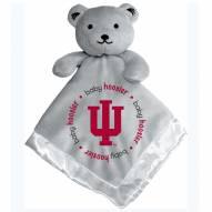 Indiana Hoosiers Infant Bear Security Blanket