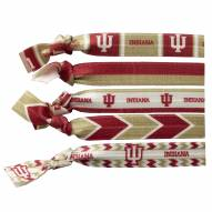Indiana Hoosiers Knotted Hair Tie