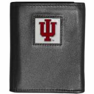 Indiana Hoosiers Leather Tri-fold Wallet