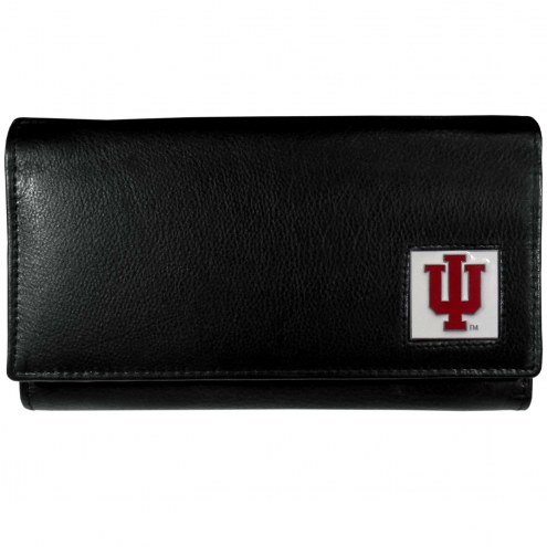 Indiana Hoosiers Leather Women's Wallet