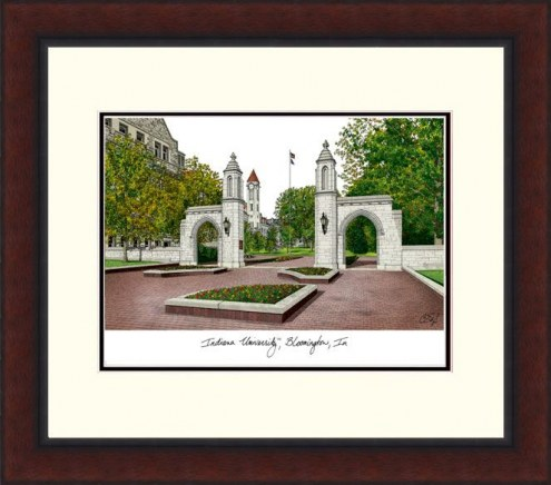 Indiana Hoosiers Legacy Alumnus Framed Lithograph