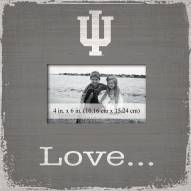Indiana Hoosiers Love Picture Frame