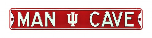 Indiana Hoosiers Man Cave Street Sign