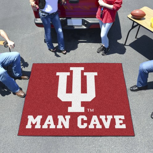 Indiana Hoosiers Man Cave Tailgate Mat