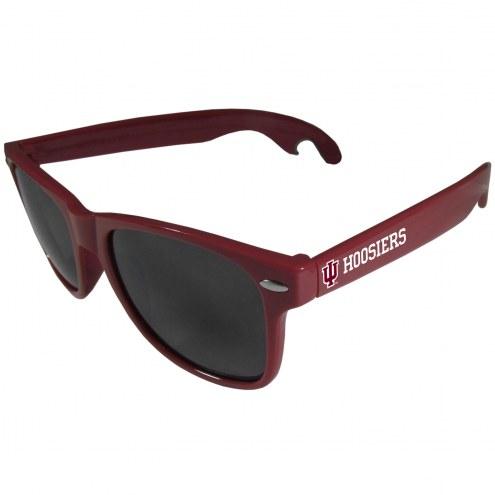 Indiana Hoosiers Maroon Beachfarer Bottle Opener Sunglasses