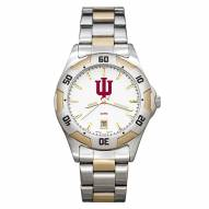 Indiana Hoosiers Men's All-Pro Two-Tone Watch