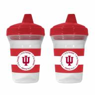 Indiana Hoosiers 2-Pack Sippy Cups