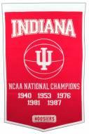 Winning Streak Indiana Hoosiers NCAA Basketball Dynasty Banner