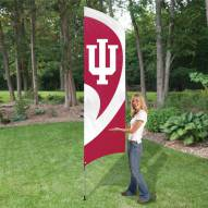 Indiana Hoosiers NCAA Tall Team Flag