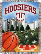 Indiana Hoosiers NCAA Woven Tapestry Throw / Blanket