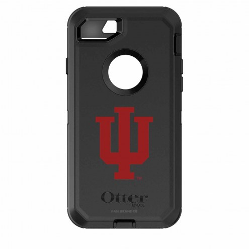 Indiana Hoosiers OtterBox iPhone 8/7 Defender Black Case