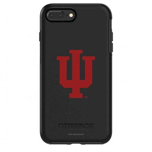 Indiana Hoosiers OtterBox iPhone 8/7 Symmetry Black Case